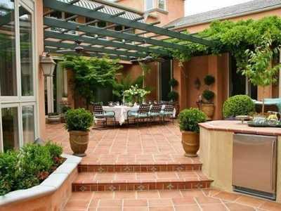 英国的别墅庭院设计 别墅庭院设计说明