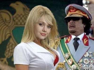 卡扎菲为什么会死 卡扎菲三名女保镖下场惨烈