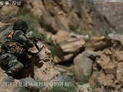 新疆边防反恐战 央视曝光边防武警在新疆边境实战反恐毙敌6名