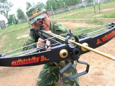 威力最大的弩 中国武警部队列装新式大威力弓弩武器