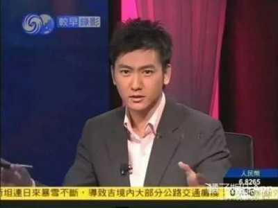 姜声扬 凤凰卫视的男主播怎么都这么帅