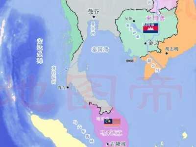 泰国克拉运河计划 如果开挖可连接印度洋与太平洋